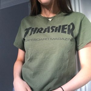 Army Green Thrasher T-Shirt